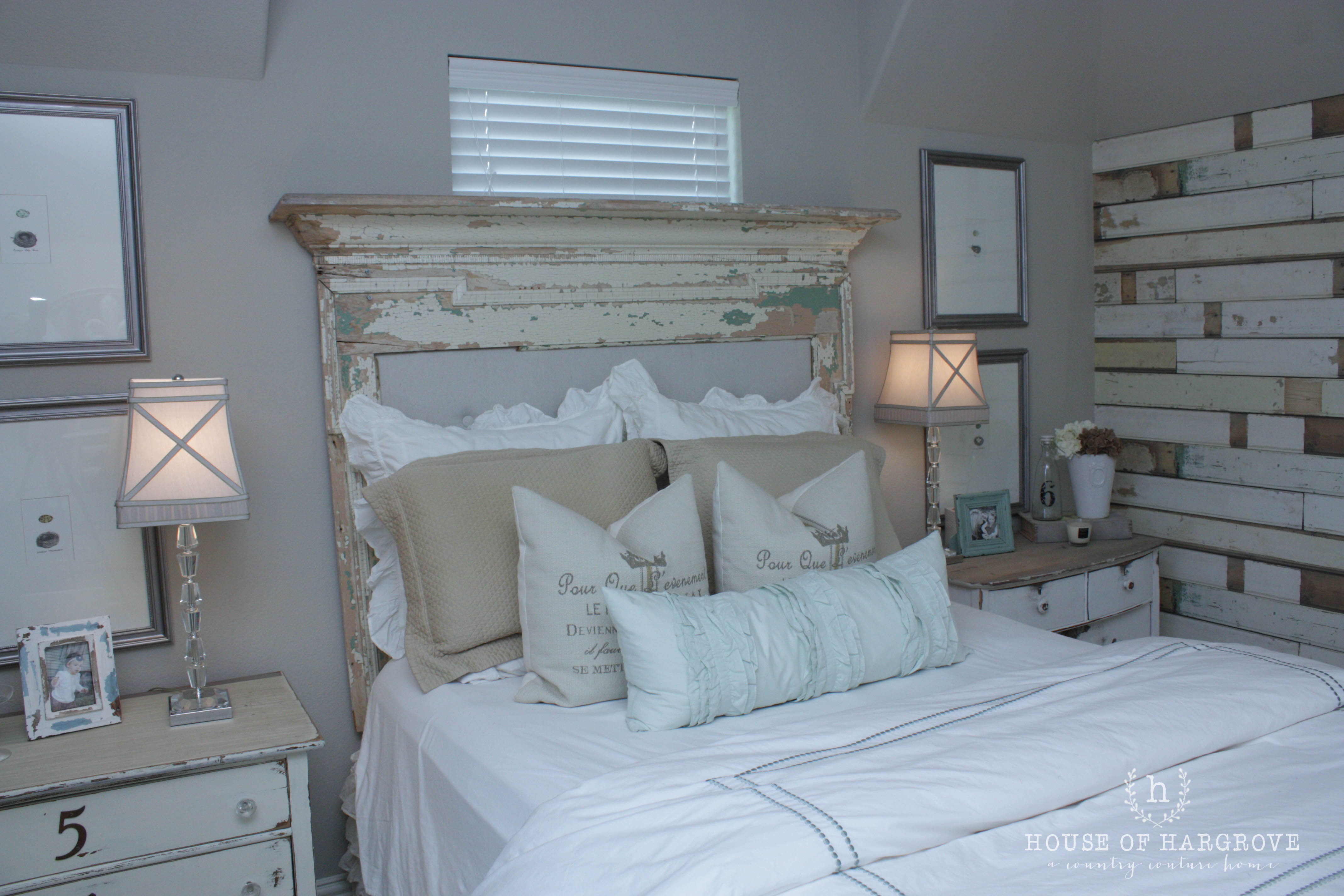 Vintage Farmhouse Bedroom Images Farmhouse Guest Bedroom Take 2 House Of Hargrove
