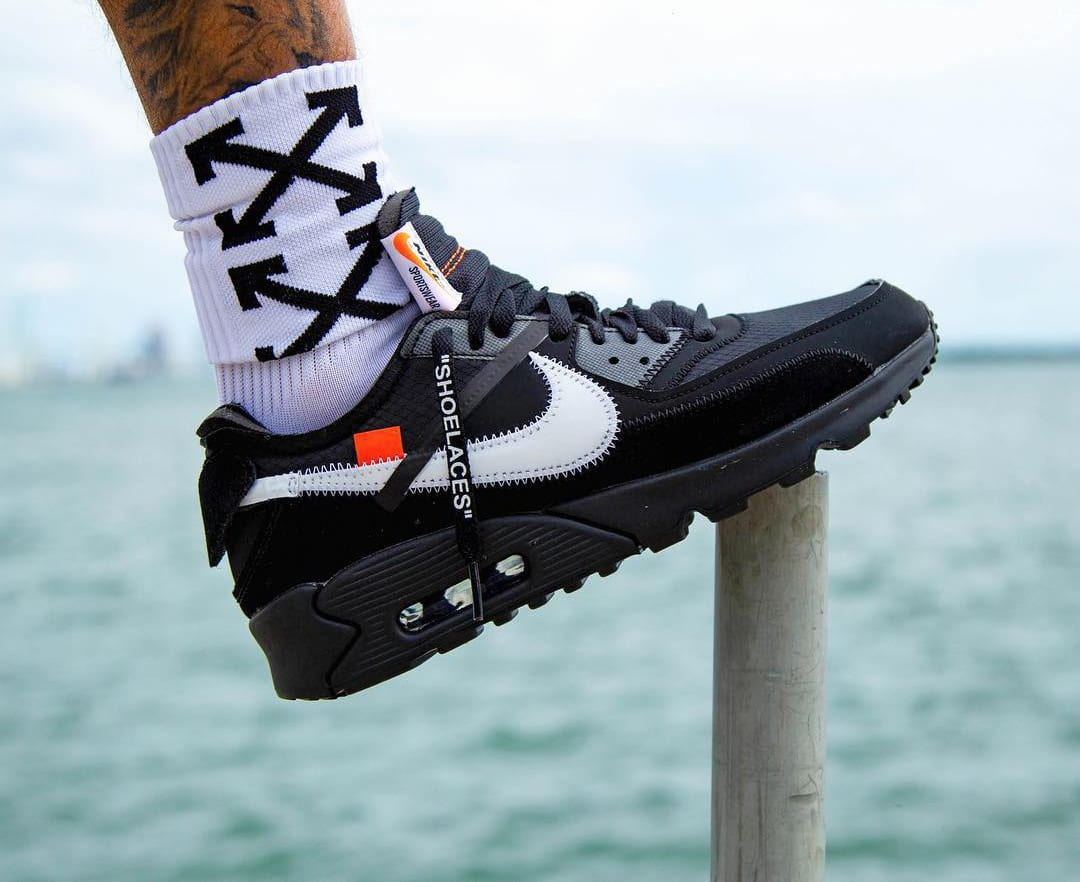 Air Max X Off White Black A Release Date Is Set For The Off White X Nike Air Max 90