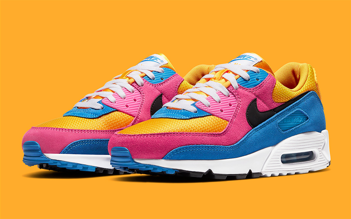 Available Now New Nike Air Max 90 Comes Covered In