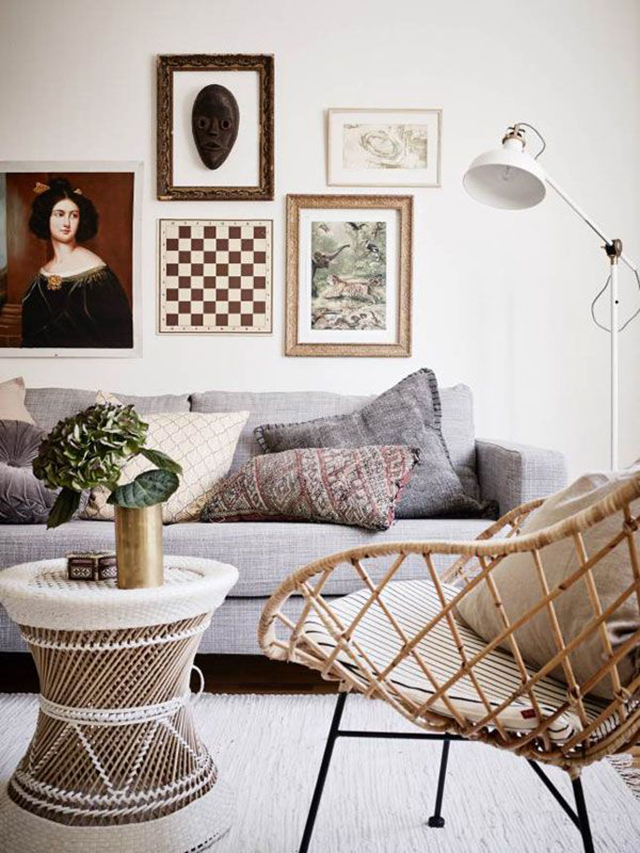 Mid Century Modern Patio Design Crush: Decorating With Rattan - House Of Hipsters