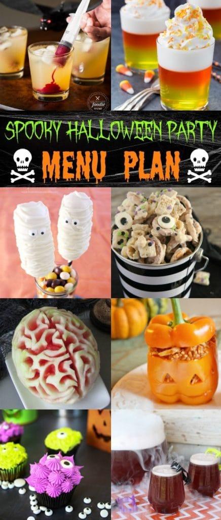 Spooky Halloween Party Menu Plan - House of Nash Eats