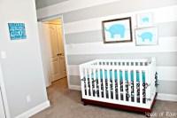 Nursery Ideas Gray and White