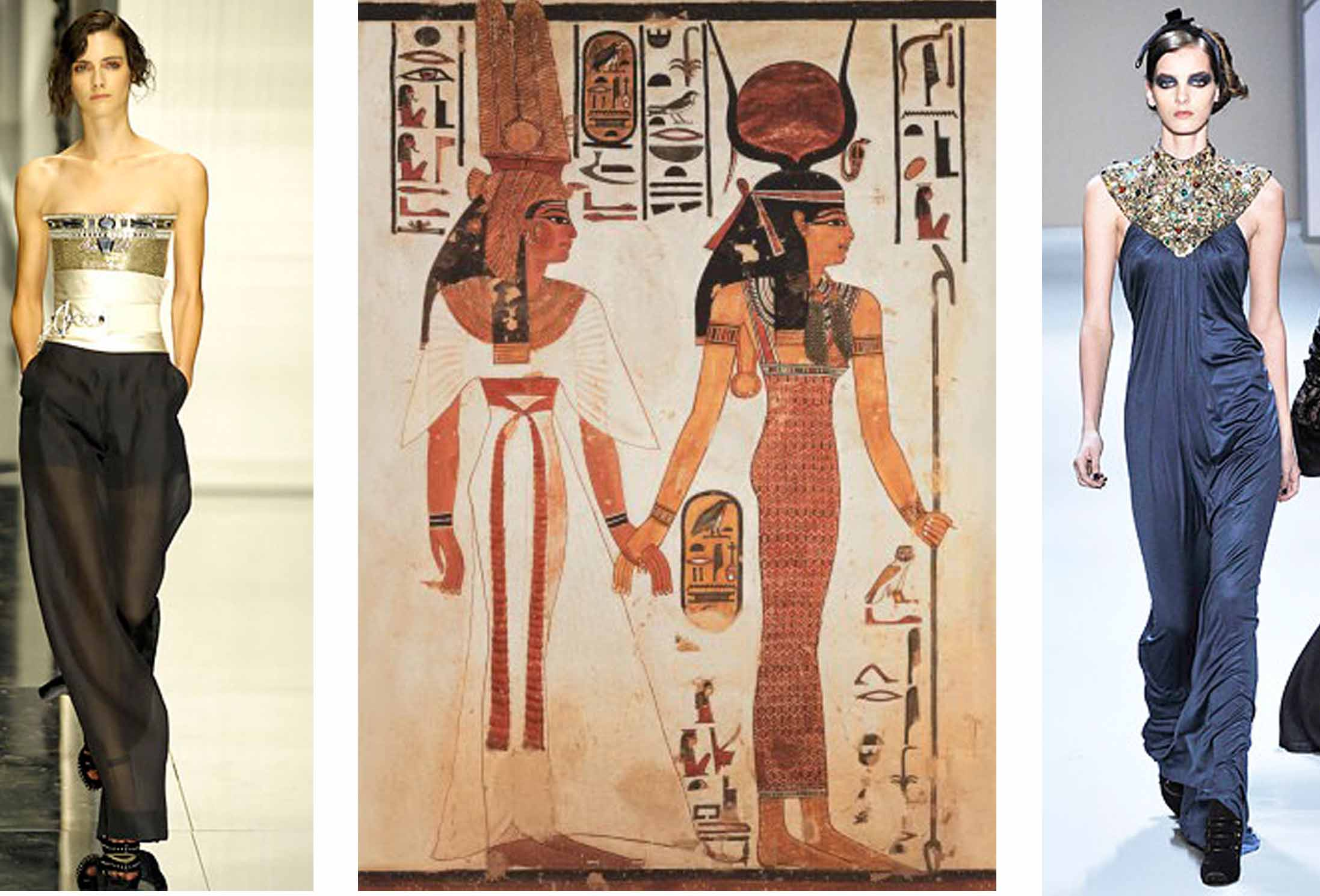 Egyptian inspired modern day style