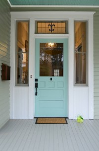 Turquoise and Blue Front Doors  with Paint Colors ...