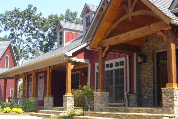 red craftsman style homes craftsman house plans craftsman home plans craftsman style house