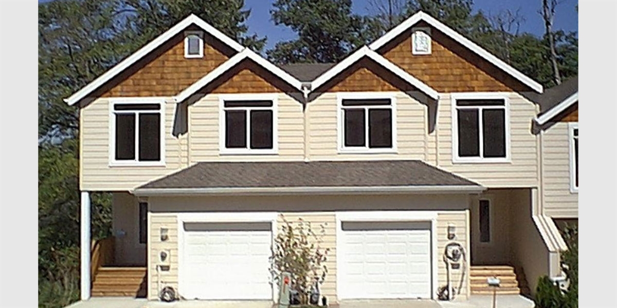 duplex house plans daylight basement house plans duplex house plan elevation floor plan sq sq
