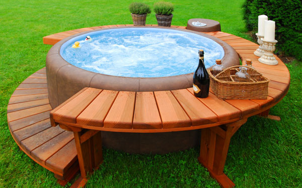 Jacuzzi Extérieur Gonflable Hot Tubs Types - Hot Tub Safety | House Plans And More