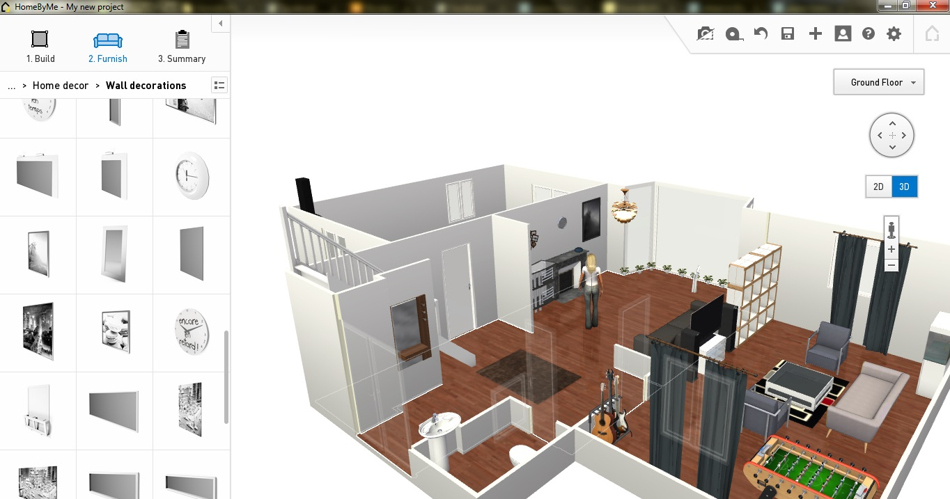 Design Programs Free Floor Plan Software Homebyme Review