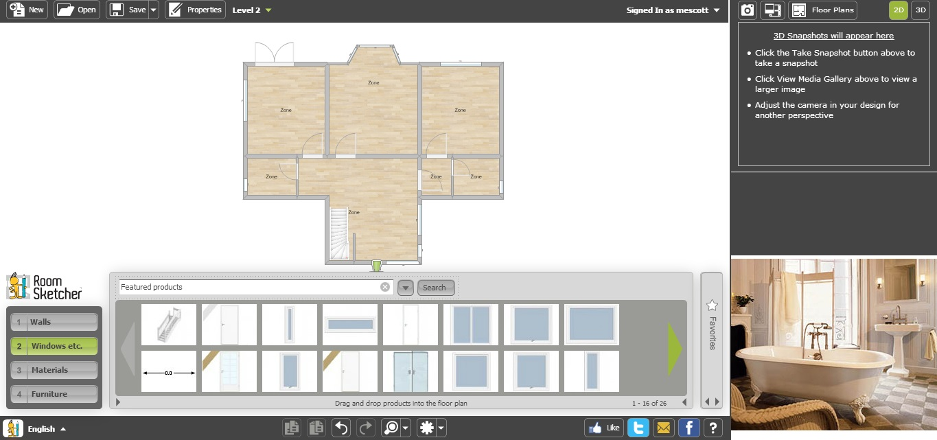 Roomsketcher Mac Free Floor Plan Software Roomsketcher Review
