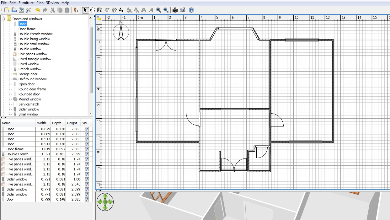 Sweet Home 3d Free Floor Plan Software Sweethome3d Review