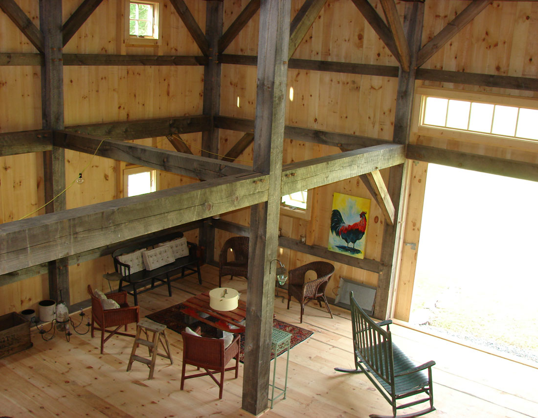 Barn Door Frame Houses And Barns | Pettengil Timber Frame Barn