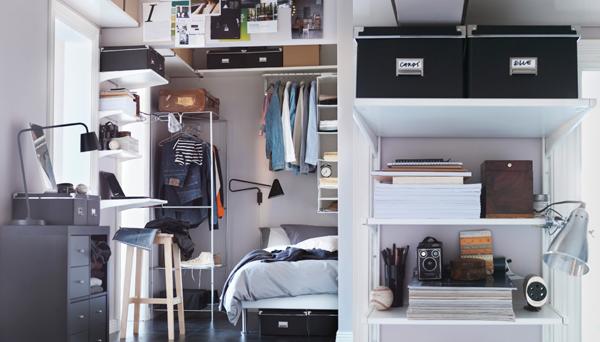 small ikea bedroom storage ideas - Ikea Bedroom Storage