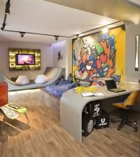 Modern-boys-graffiti-bedroom