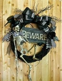 25 Awesome Halloween Wreath Ideas   House Design And Decor