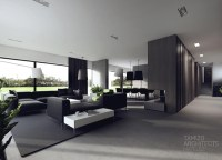 Black and White Interiors by Tamizo Architects   House ...