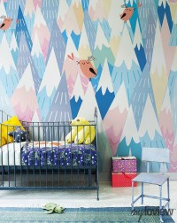 10 Cool Painted Wallpapers For Kids Rooms | House Design ...