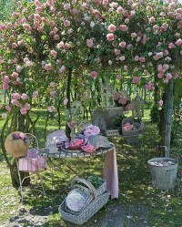 17 Shabby Chic Garden For Romantic Feel | House Design And ...