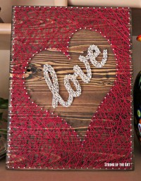 20 Fun DIY Thread And Nails String Art | House Design And ...
