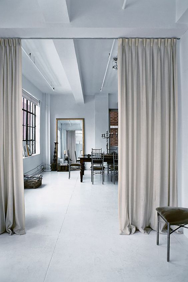 15 Easy and Amazing Curtains Room Dividers