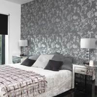 free grey wallpaper: Grey Wallpaper Bedroom