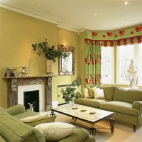 Lime-green living room | Living room furniture ...