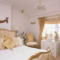 White and gold bedroom | Bedroom design | Decorating ideas ...