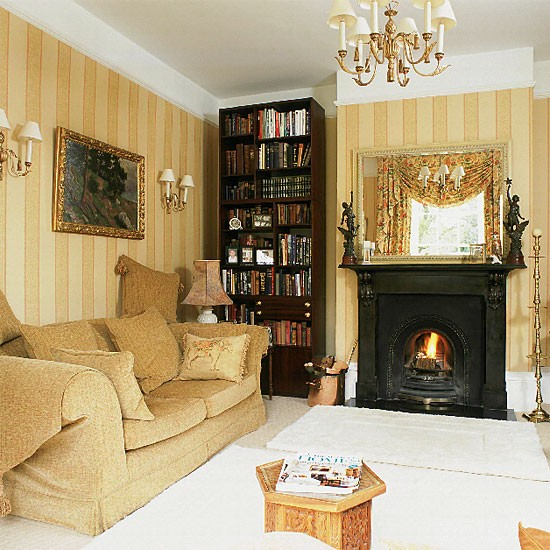 Gold: ten ideas to decorate your house