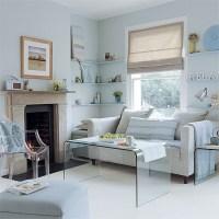 Living room | Pale blue and grey scheme | housetohome.co.uk