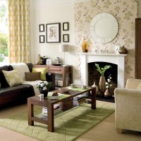 Fresh green and chocolate living room | housetohome.co.uk