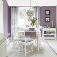 Plum and silver dining room | Dining rooms | Dining room ...