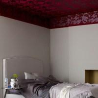 ceiling wallpaper ideas 2017 - Grasscloth Wallpaper
