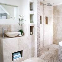 Neutral tiled bathroom | Bathrooms | Design ideas | Image ...