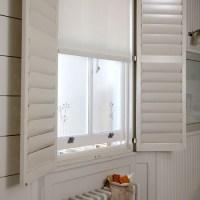 Bathroom window treatment | Simple bathroom ideas ...