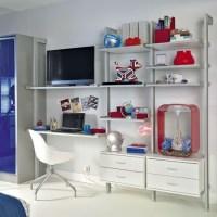Boy's bedroom storage | Bedroom storage ideas | Shelving ...