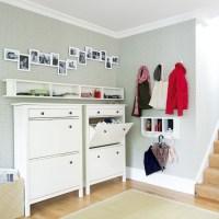 Modern hallway storage | Hallway storage ideas | Shoe ...