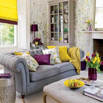Living room wallpaper | housetohome.co.uk