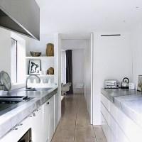 Narrow kitchen | Small kitchens | Modern kitchens ...