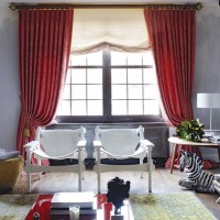 Sumptuous living room | Living room designs | Curtains ...