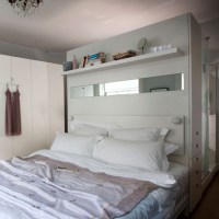 Oversized headboard room divider | Room dividers  10 ...