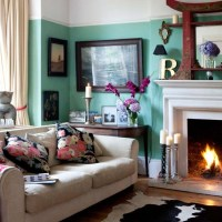 Living room | Eclectic Victorian villa house tour ...