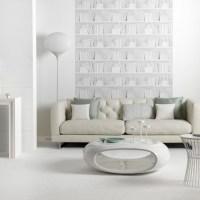 Contemporary white living room | Living room idea ...