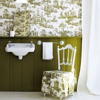 Wallpaper above the dado | Design ideas: decorating with ...