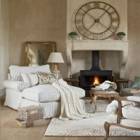 Cosy French-style living room | Living room decorating ...