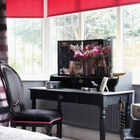 Bedroom window dressing area | Bedroom | housetohome.co.uk