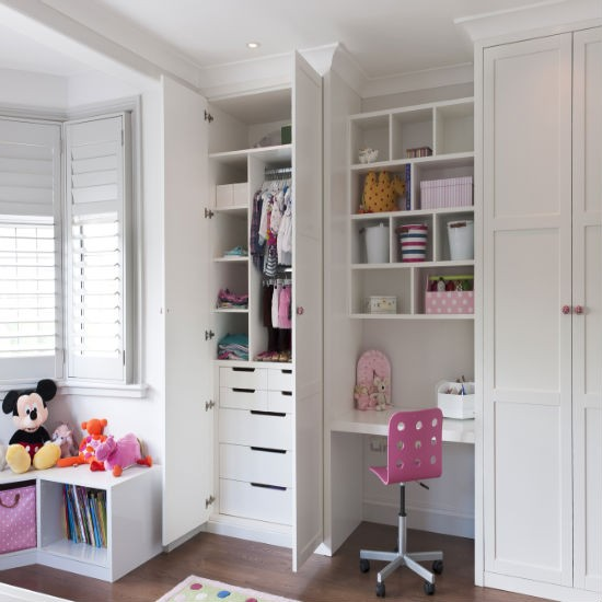 Fitted Children39s Storage And Wardrobes From Inhouse
