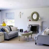 Soft grey living room | Traditional living room ideas ...