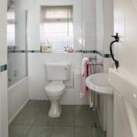 Small white bathroom | Modern bathrooms | housetohome.co.uk
