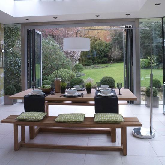 Garden Room Dining Area Modern Dining Room Ideas