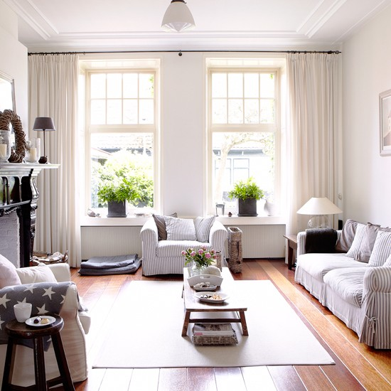 Coastal country living room decorating ideas the house
