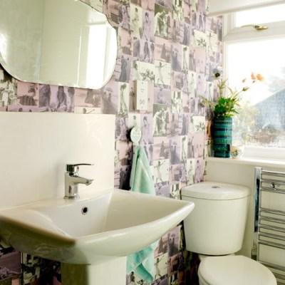 Bathroom | Vintage-inspired home | House tour | housetohome.co.uk